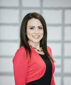 A headshot of Danielle Gaffen, MS, RDN, LD
