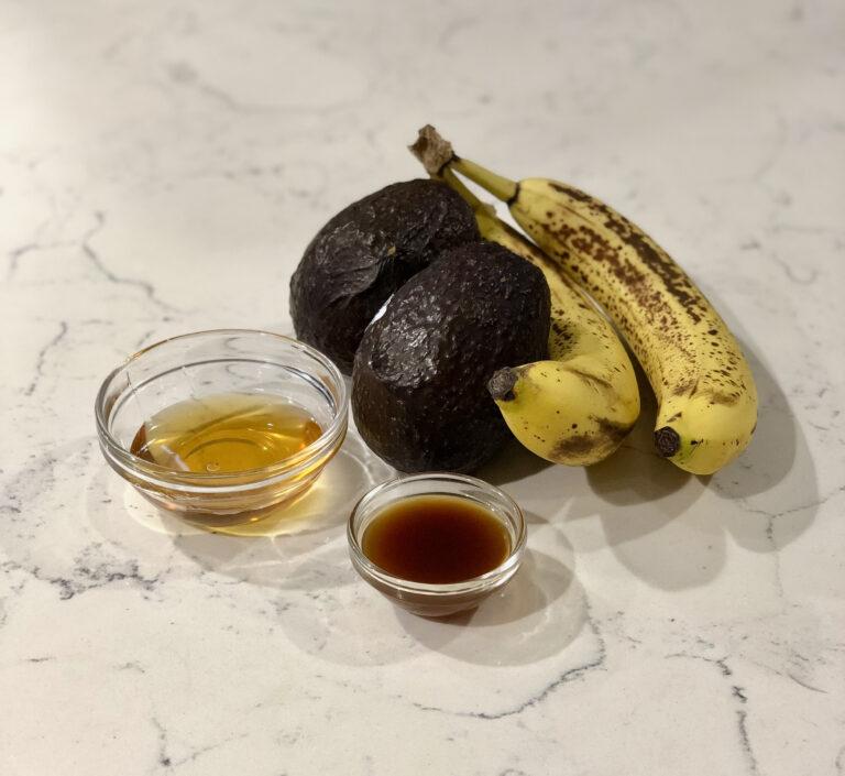 Avocado Pudding Ingredients