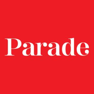 A close up image of Parade's logo